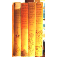 The History of the English Speaking People (4 volume set).